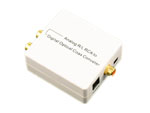 Analog L/R RCA 3.5mm Audio to Digital Optical Toslink SPDIF Coax Converter Adapter