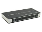 3D 4K 5x1 HDMI MHL switcher with audio extractor 5.1CH ARC Tolink RL audio output