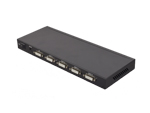 4 Port DVI Video Splitter 1 in 4 out Splits 1 Video Signal to 4 DVI-D Display up to 4096x2160
