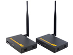 Wireless HDMI Transmitter Audio Video Extender 1080p 3D 200M With IR and HDMI Loop Out