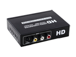 AV S-Video to HDMI+VGA Audio Scaler Converter 1080P
